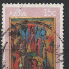 Sellos: AUSTRALIA 1980 NAVIDAD SELLO USADO * LEER DESCRIPCION. Lote 278274613