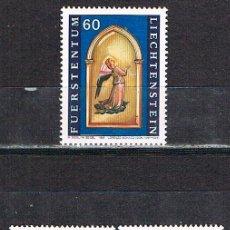 Sellos: LIECHTENSTEIN IVERT Nº 1061/3, NAVIDAD 1995, CUADROS DE LORENZO MONACO, NUEVO *** SERIE COMPLETA. Lote 278520678