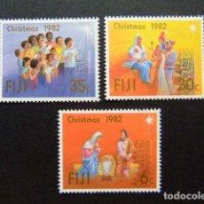 Sellos: FIDJI FIJI 1982 NÖEL YVERT 471 / 473 ** MNH. Lote 281911438