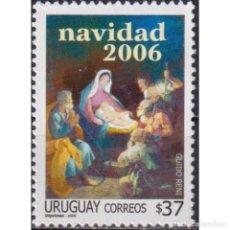 Sellos: ⚡ DISCOUNT URUGUAY 2006 CHRISTMAS MNH - CHRISTMAS. Lote 284374303
