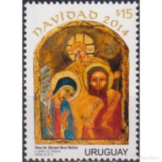 Sellos: ⚡ DISCOUNT URUGUAY 2014 CHRISTMAS MNH - CHRISTMAS. Lote 284374363