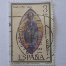 Sellos: SELLO ESPAÑA 1975 NAVIDAD 3 PESETAS USADO. Lote 285659363