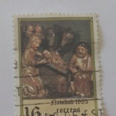 Sellos: SELLO ESPAÑA NAVIDAD 1983 USADO. Lote 285678878