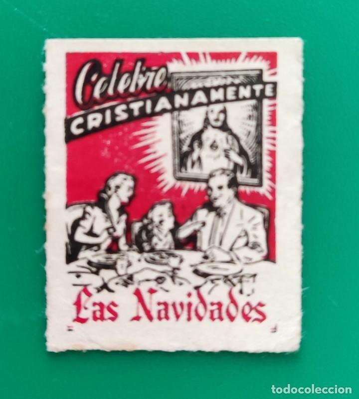 SELLO- ESTAMPA- CELEBRE CRISTIANAMENTE LAS NAVIDADES (Sellos - Temáticas - Navidad)