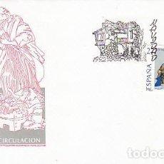 Sellos: EDIFIL 3227, NAVIDAD 1992, FIGURAS DEL BELEN, PRIMER DIA, SOBRE PRIMER DIA DE 5-11-1992. Lote 288686748