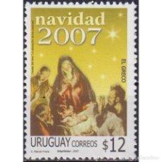 Sellos: ⚡ DISCOUNT URUGUAY 2007 CHRISTMAS MNH - CHRISTMAS. Lote 295967198