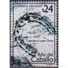 Sellos: ⚡ DISCOUNT URUGUAY 2002 YEAR OF THE HORSE MNH - NEW YEAR. Lote 295967413