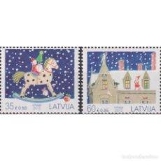 Sellos: ⚡ DISCOUNT LATVIA 2013 CHRISTMAS STAMPS MNH - CHRISTMAS. Lote 295971178