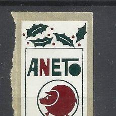Sellos: ANETO FELICIDADES. Lote 296577903