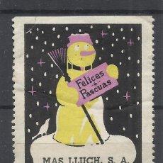 Sellos: FELICES PASCUAS MAS LLUCH SL. Lote 296578198