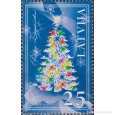 Sellos: ⚡ DISCOUNT LATVIA 2008 MERRY CHRISTMAS MNH - CHRISTMAS. Lote 297146703