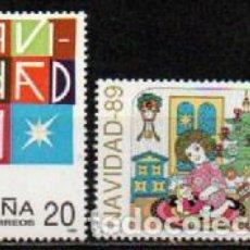 Sellos: EDIFIL Nº 3037, NAVIDAD 1989, NUEVO***, SERIE COMPLETA. Lote 297366198