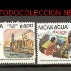 Sellos: NICARAGUA 1983. FEDERACIÓN DE RADIOAFICIONADOS DE CENTROAMÉRICA Y PANAMA. Lote 1191821
