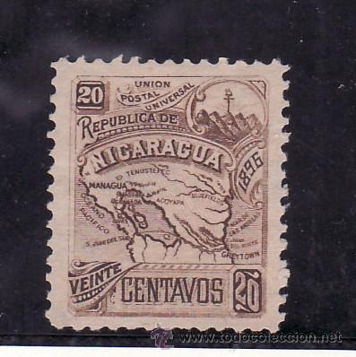 NICARAGUA 85 SIN GOMA, (Sellos - Extranjero - América - Nicaragua)