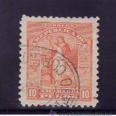 Sellos: NICARAGUA 70 USADA, . Lote 24695189