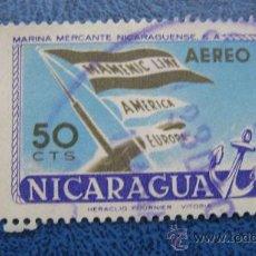 Sellos: 1957 NICARAGUA, MARINA MERCANTE NICARAGUENSE, YVERT 371. Lote 29648195