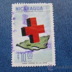 Sellos: 1965 NICARAGUA, CENTENARIO CRUZ ROJA INTERNACIONAL, YVERT 531 AEREO. Lote 29660938