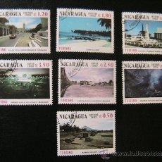 Sellos: NICARAGUA 1982 SELLOS CONMEMORATIVOS TURISMO. Lote 37687781