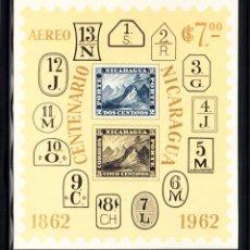Sellos: NICARAGUA HB 99** - AÑO 1962 - CENTENARIO DEL SELLO. Lote 49221316