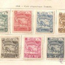 Sellos: NICARAGUA. 1896 YVERT Nº 81/90.. Lote 51392543