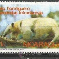 Sellos: NICARAGUA OSO HORMIGUERO ** NUEVO SIN FIJASELLOS. Lote 51787799