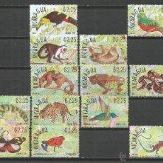 Sellos: NICARAGUA CONJUNTO FAUNA TROPICAL ** NUEVOS SIN FIJASELLOS --2 SELLOS SIN GOMA--. Lote 51788485