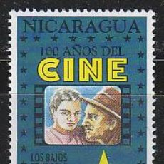 Sellos: NICARAGUA IVERT 1894, LOS BAJOS FONDOS DE RENOIR (CENTENARIO DEL CINE), NUEVO ***. Lote 53891066