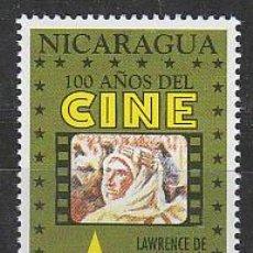 Sellos: NICARAGUA IVERT 1887, LAWRENCE DE ARABIA DE DAVID LEAN (CENTENARIO DEL CINE), NUEVO ***. Lote 53891332