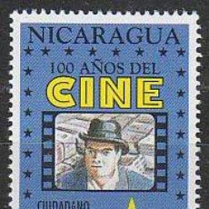 Sellos: NICARAGUA IVERT 1884, CIUDADANO KANE DE ORSON WELLES (CENTENARIO DEL CINE), NUEVO ***. Lote 53891405