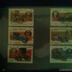 Sellos: NICARAGUA VEHICULOS DE EPOCA - 1984 - USADOS.. Lote 58455104