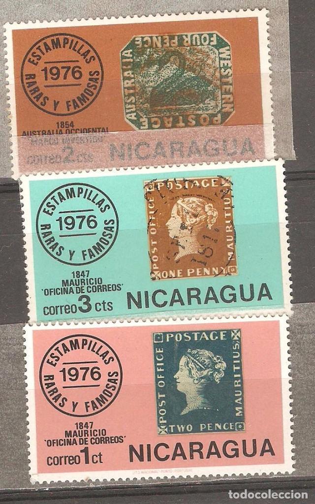 NICARAGUA,1976 CAT.YT. 1057 A 1059,NUEVOS,GOMA ORIGINAL,SIN FIJASELLOS. (Sellos - Extranjero - América - Nicaragua)