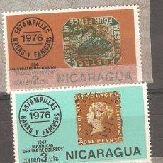 Sellos: NICARAGUA,1976 CAT.YT. 1057 A 1059,NUEVOS,GOMA ORIGINAL,SIN FIJASELLOS.. Lote 72998955