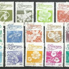 Francobolli: NICARAGUA - 1983 - SCOTT 1209/1224 - USADO. Lote 86022540