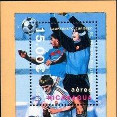 Sellos: (CF) NICARAGUA 1988, HB ESSEN '88 (CTO) / CF3160. Lote 95026479