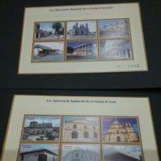 Sellos: HB (2)/ SELLOS/ MP (12V) NICARAGUA NUEVOS. 1999. CIUDADES. ANIVERSARIO. GRANDA. LEON. Lote 97443532