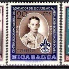 Sellos: NICARAGUA 1957 - NUEVO. Lote 98739643