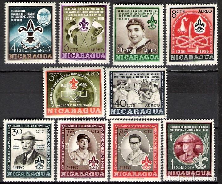 NICARAGUA 1957 - NUEVO (Sellos - Extranjero - América - Nicaragua)