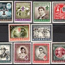 Sellos: NICARAGUA 1957 - NUEVO. Lote 98739739