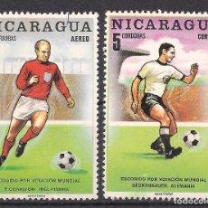 Sellos: NICARAGUA 1970 - USADO. Lote 98739875