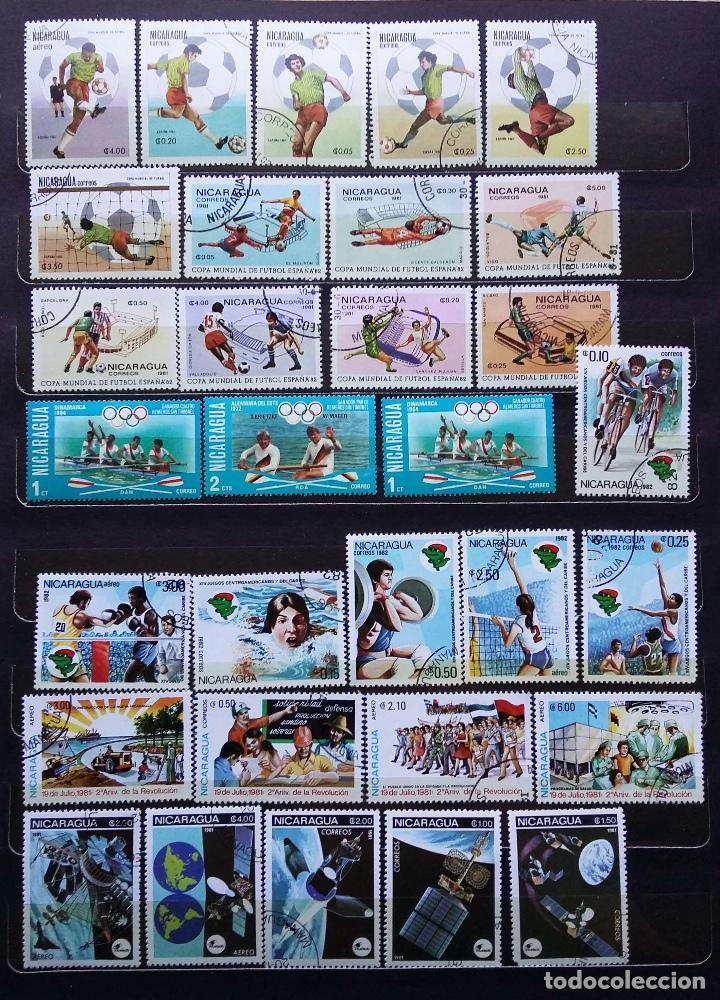 Sellos: NICARAGUA - SELLOS NUEVOS (CON MATASELLOS) - SE ADJUNTAN FOTOGRAFIAS DE TODOS LOS SELLOS - Foto 2 - 100052151