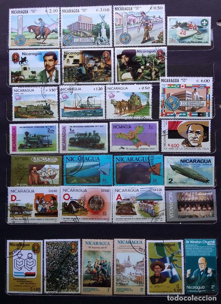 Sellos: NICARAGUA - SELLOS NUEVOS (CON MATASELLOS) - SE ADJUNTAN FOTOGRAFIAS DE TODOS LOS SELLOS - Foto 3 - 100052151