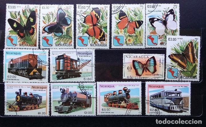Sellos: NICARAGUA - SELLOS NUEVOS (CON MATASELLOS) - SE ADJUNTAN FOTOGRAFIAS DE TODOS LOS SELLOS - Foto 4 - 100052151