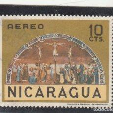 Sellos: NICARAGUA 1968 - YVERT NRO. 619 PA - USADO. Lote 103832299