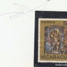 Sellos: NICARAGUA 1968 - YVERT NRO. 624 PA - USADO. Lote 103832363