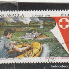 Francobolli: NICARAGUA 1983 -YVERT NRO.1268 -USADO. Lote 113123763