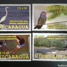 Sellos: NICARAGUA. YVERT 2650/3. SERIE COMPLETA NUEVA SIN CHARNELA. FAUNA. AVES.. Lote 117331902