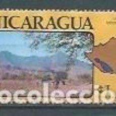 Sellos: NICARAGUA,1978,LAGOS Y VOLCANES,USADO,YVERT 922. Lote 119924452