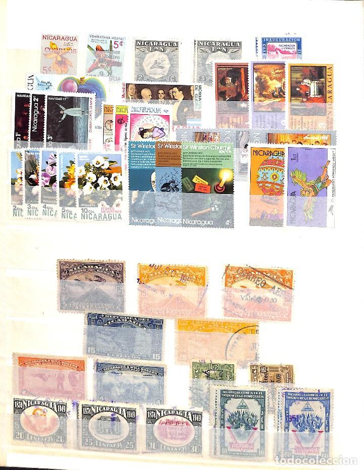 Sellos: NICARAGUA, COLECCIÓN DE SELLOS, CORREO AÉREO, OFICIAL, TELÉGRAFOS, - Foto 4 - 128750007