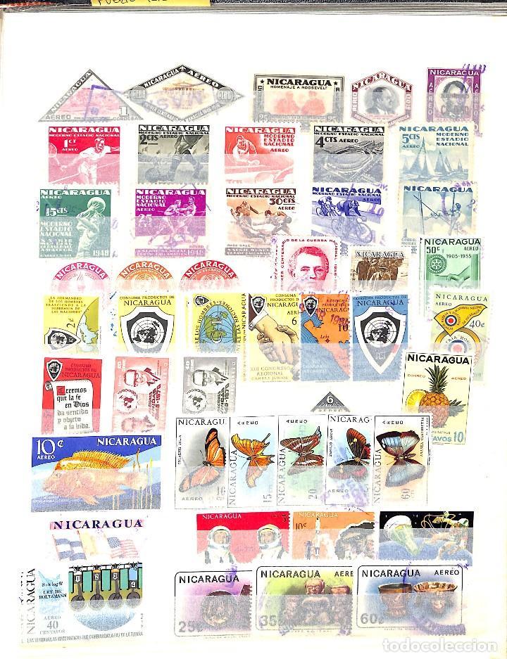 Sellos: NICARAGUA, COLECCIÓN DE SELLOS, CORREO AÉREO, OFICIAL, TELÉGRAFOS, - Foto 5 - 128750007