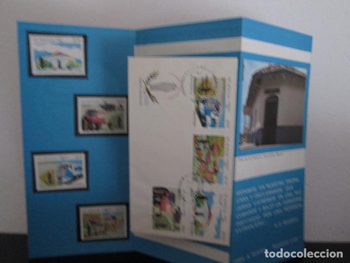 Sellos: TRIPTICO A 50 AÑOS SANDINO VIVE CON SOBRE PRIMER DIA Y SELLOS - Foto 5 - 132558086